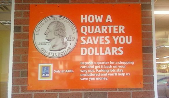 Aldi-QuarterForCartSign-2